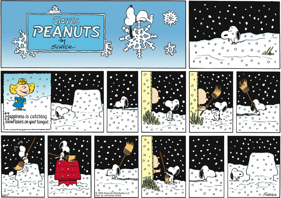 Peanuts Comic Strip for December 11, 2011