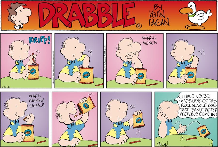 Drabble for Jun 10, 2018 Comic Strip