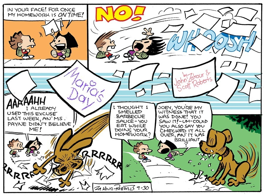 Maria's Day Comic Strip for December 22, 2019