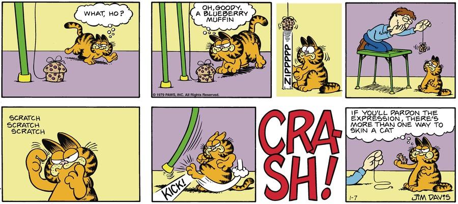 Garfield Classics Comic Strip for January 08, 2017