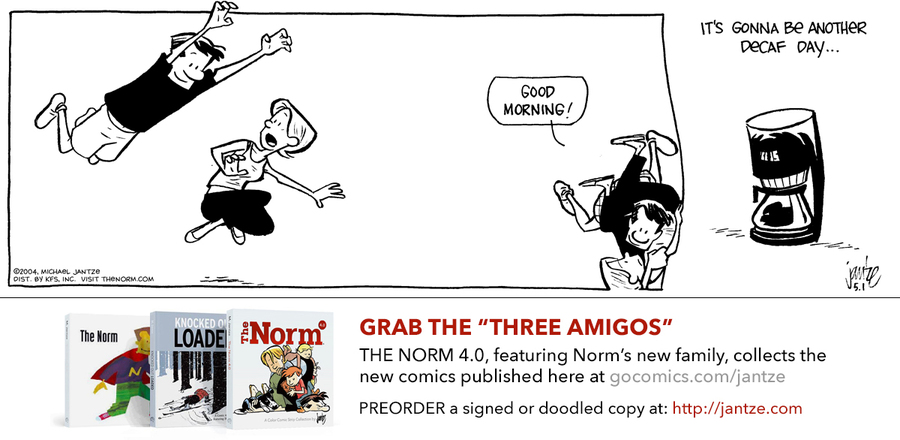 The Norm Classics Comic Strip for April 15, 2019
