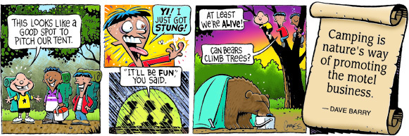 Brain Squirts Comic Strip for October 31, 2019