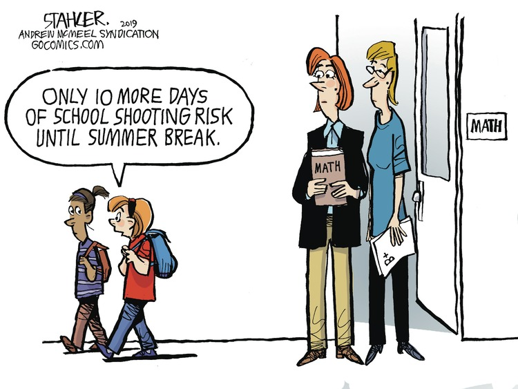 Jeff Stahler Comic Strip for May 12, 2019