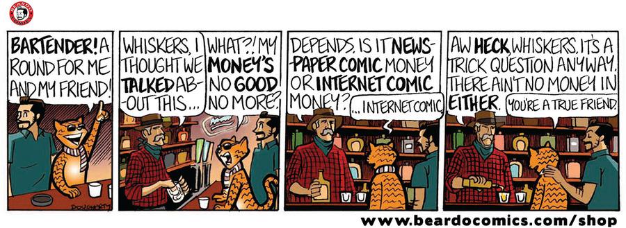 Beardo Comic Strip for March 18, 2020