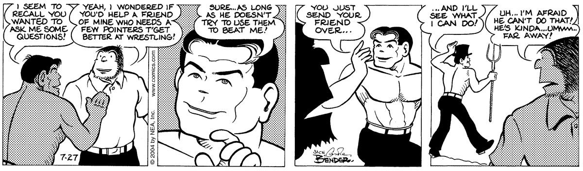 Alley Oop for Jul 27, 2004 Comic Strip