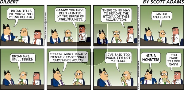 Dilbert on Sunday September 30, 2012 Comic Strip