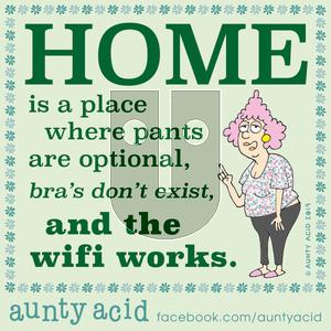 Aunty Acid on Wednesday November 20, 2019 Comic Strip