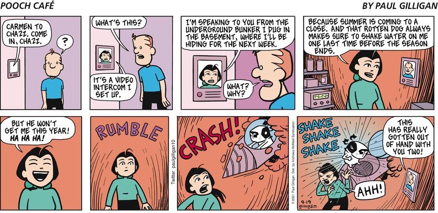 Pooch Cafe Comic Strip for September 19, 2021