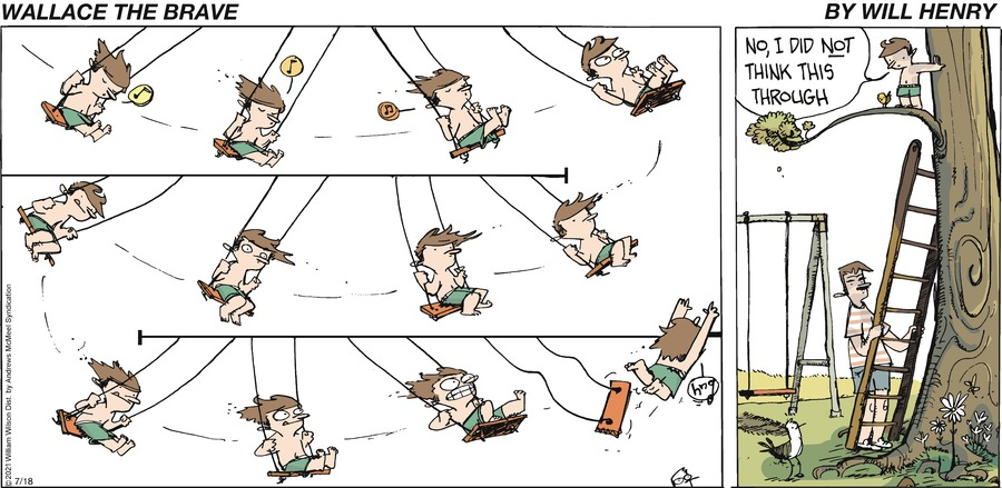 Wallace the Brave Comic Strip for July 18, 2021