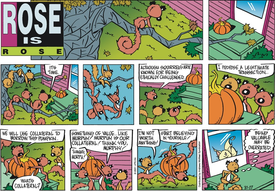 Rose is Rose by Don Wimmer and Pat Brady on Sun, 17 Oct 2021