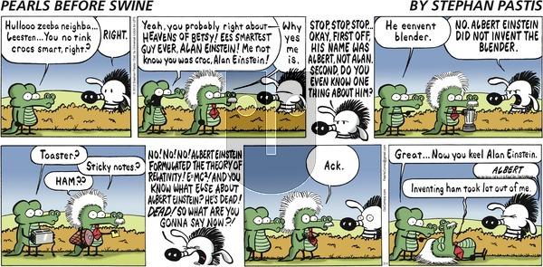 Pearls Before Swine on Sunday July 1, 2012 Comic Strip