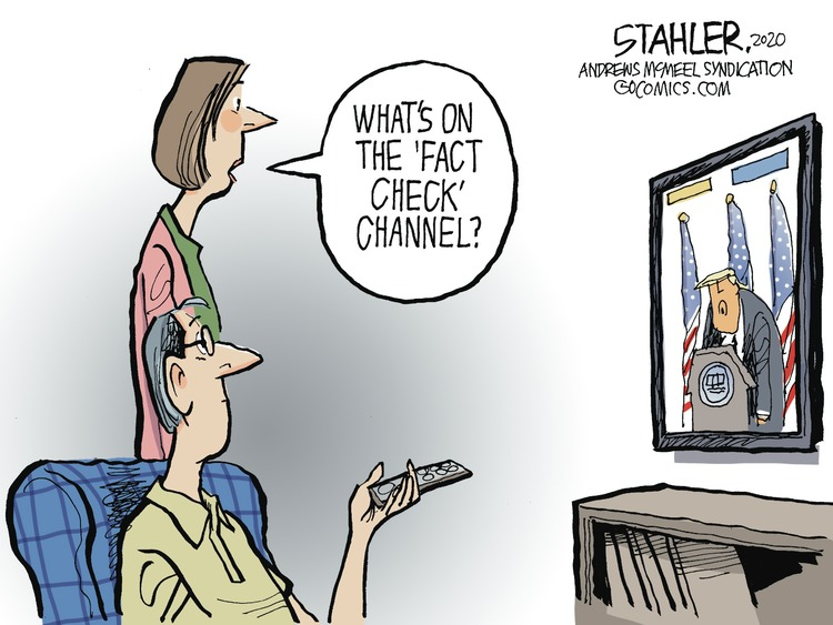 Jeff Stahler by Jeff Stahler on Sun, 30 Aug 2020