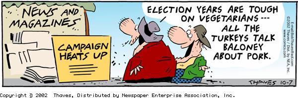 Frank and Ernest Comic Strip for October 07, 2002