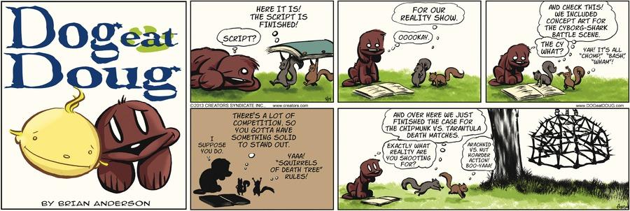 Dog Eat Doug for May 19, 2013 Comic Strip