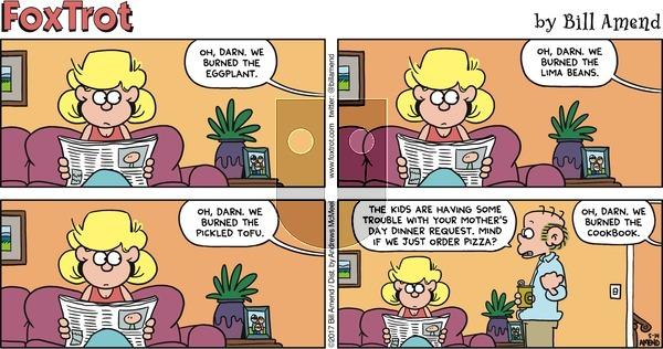 FoxTrot on Sunday May 14, 2017 Comic Strip
