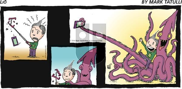 Lio on Sunday October 2, 2016 Comic Strip
