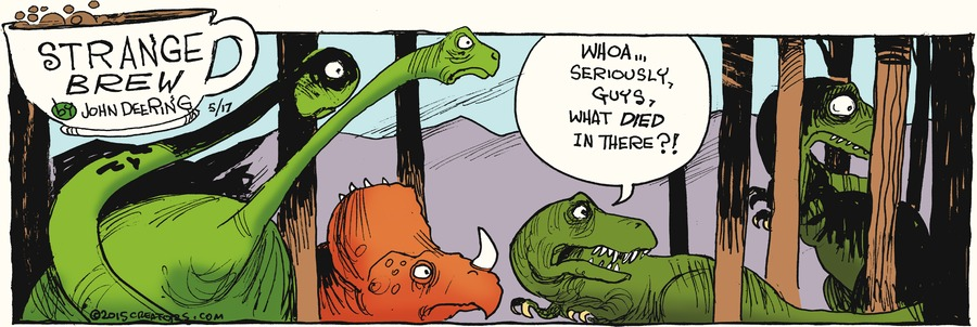 Strange Brew Comic Strip for May 17, 2015