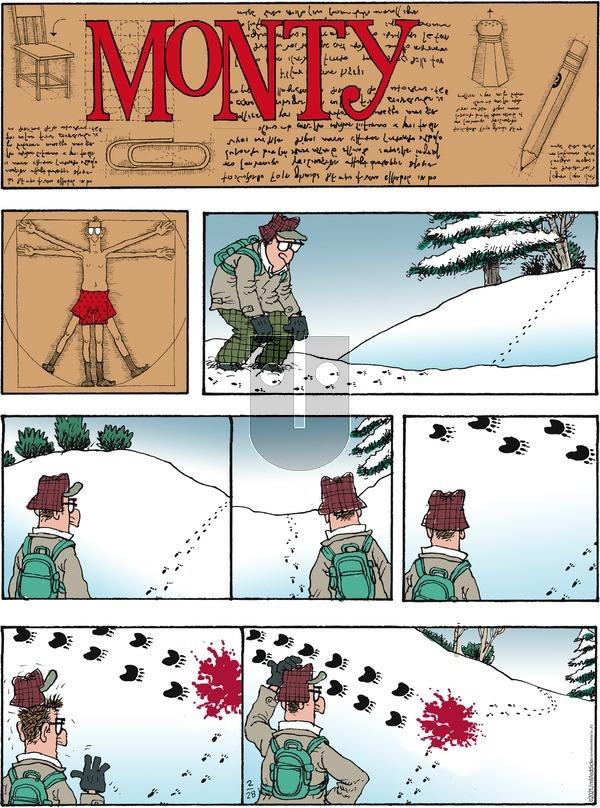 Monty - Sunday February 28, 2021 Comic Strip