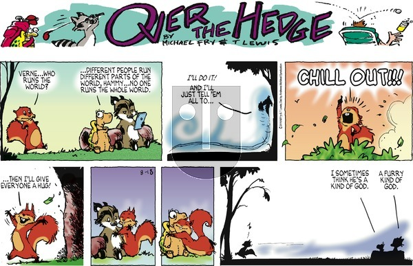 Over the Hedge on Sunday August 18, 2019 Comic Strip