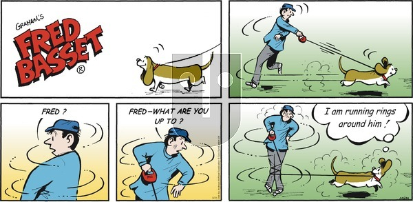 Fred Basset on Sunday March 21, 2021 Comic Strip