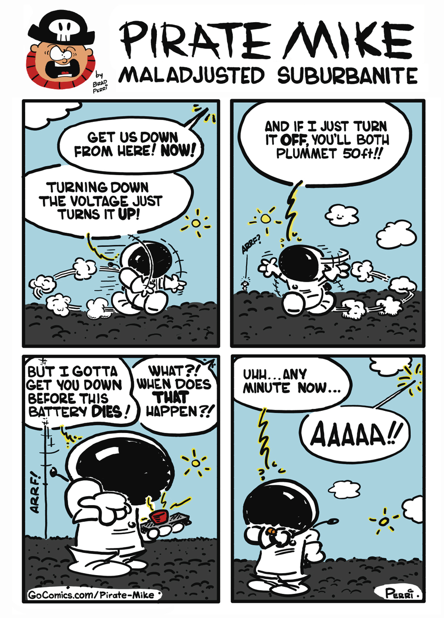 Pirate Mike Comic Strip for October 15, 2019