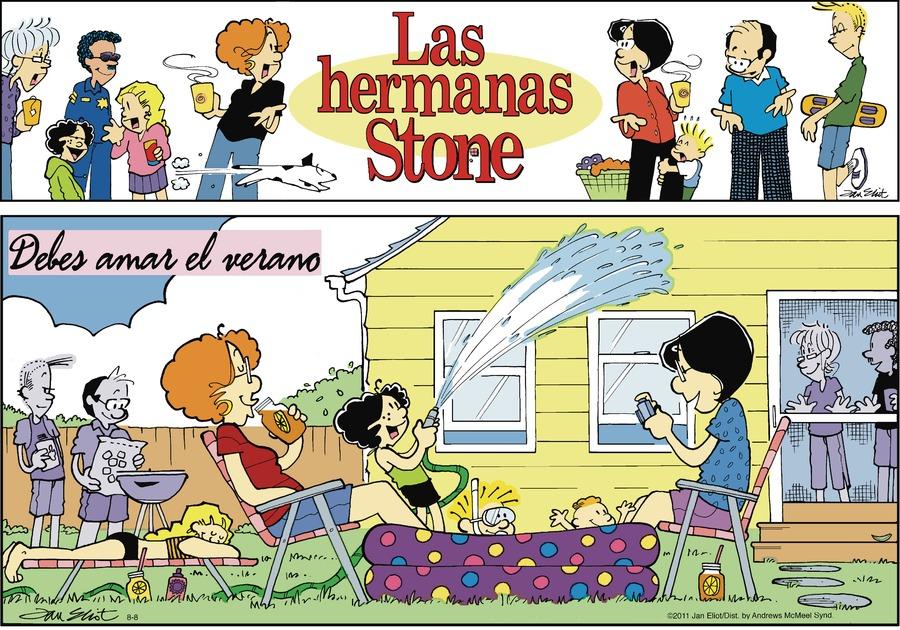 Las Hermanas Stone by Jan Eliot on Sun, 08 Aug 2021