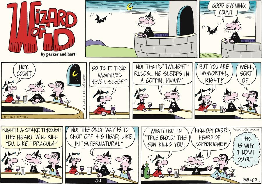 Wizard of Id for Jun 2, 2013 Comic Strip