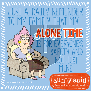 Aunty Acid on Thursday September 5, 2019 Comic Strip
