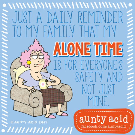 Aunty Acid by Ged Backland for September 05, 2019