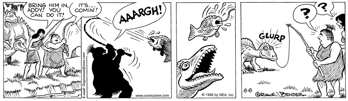 Alley Oop for Aug 8, 1998 Comic Strip