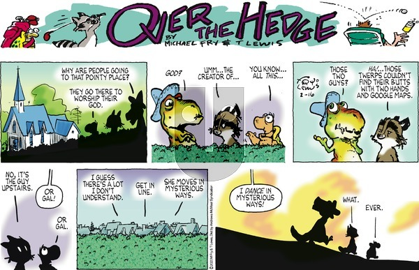 Over the Hedge on Sunday February 16, 2020 Comic Strip
