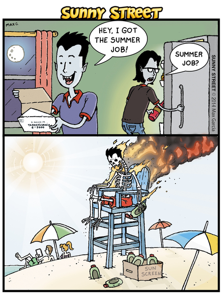 Sunny Street Comic Strip for March 25, 2014