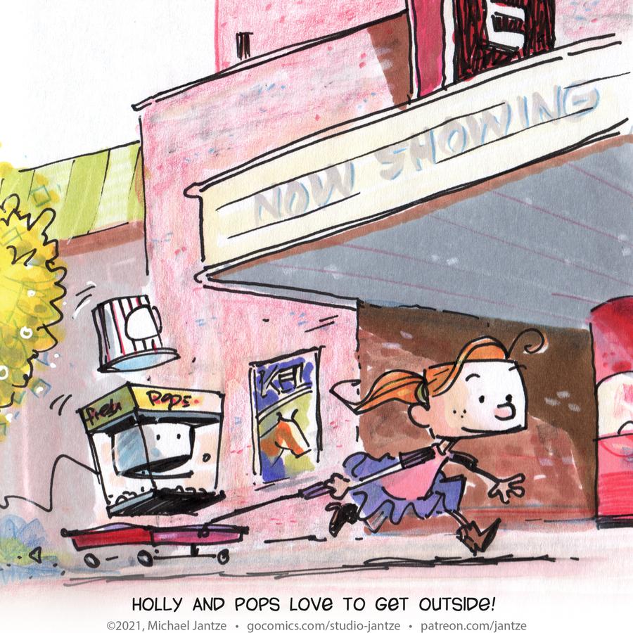 Studio Jantze Comic Strip for April 09, 2021