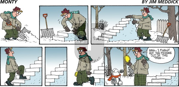 Monty on Sunday February 12, 2017 Comic Strip