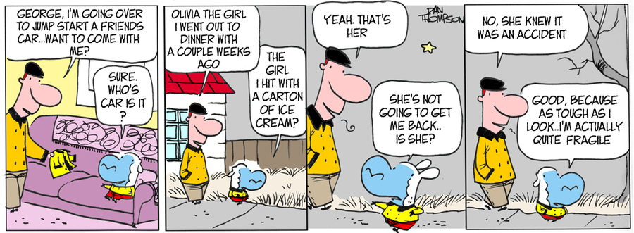 Lost Sheep Comic Strip for March 30, 2020