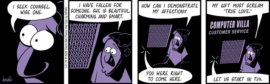 Rudy Park Comic Strip for January 21, 2019