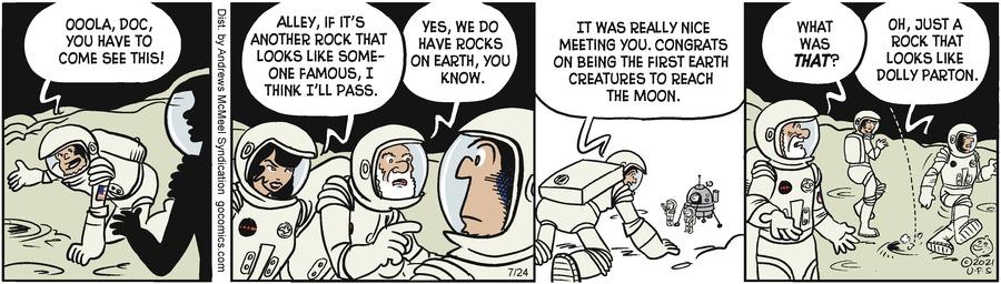 Alley Oop Comic Strip for July 24, 2021