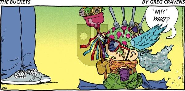The Buckets - Sunday September 6, 2020 Comic Strip