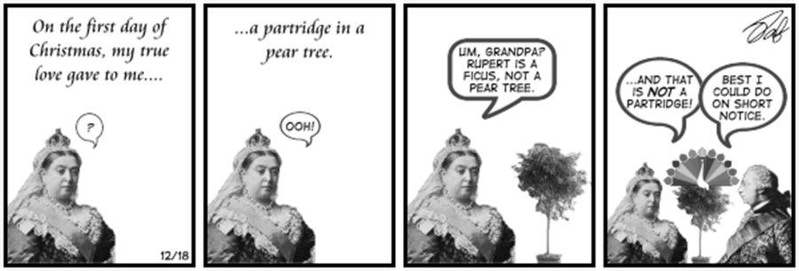 New Adventures of Queen Victoria Comic Strip for December 21, 2020
