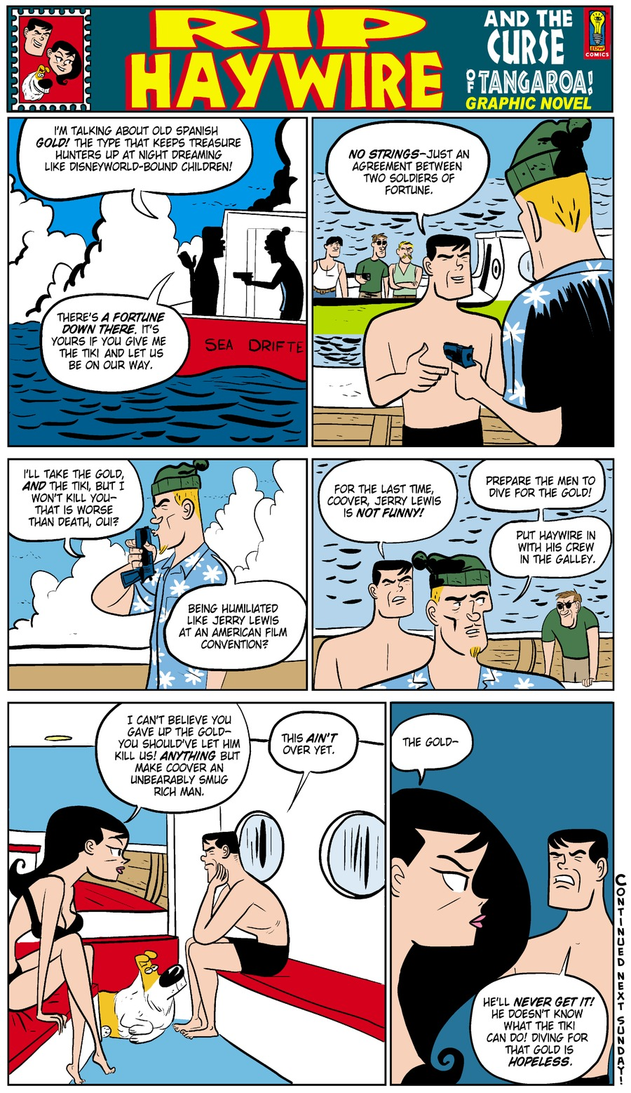 Rip Haywire Comic Strip for October 05, 2014