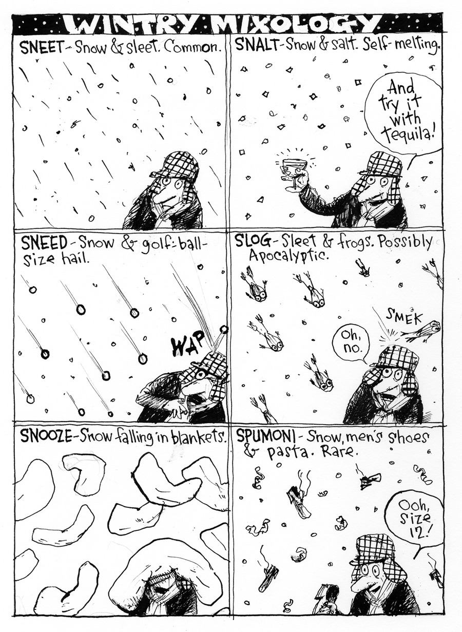 Richard's Poor Almanac Comic Strip for November 22, 2015