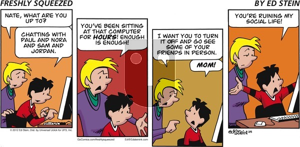 Freshly Squeezed on Sunday February 5, 2012 Comic Strip
