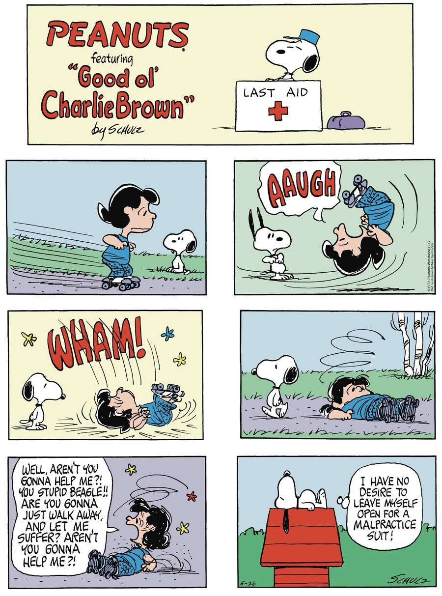 Peanuts by Charles Schulz for May 26, 2019