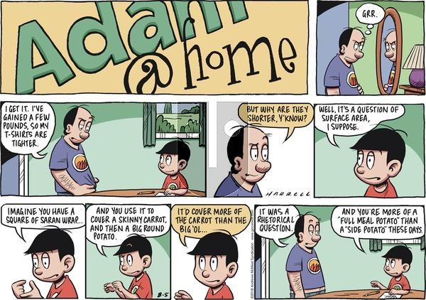 Adam@Home on Sunday August 5, 2018 Comic Strip