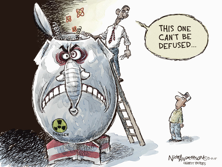 Nick Anderson Comic Strip for March 11, 2015