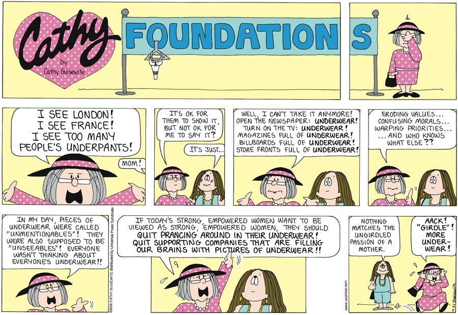 Cathy for Apr 21, 2013 Comic Strip