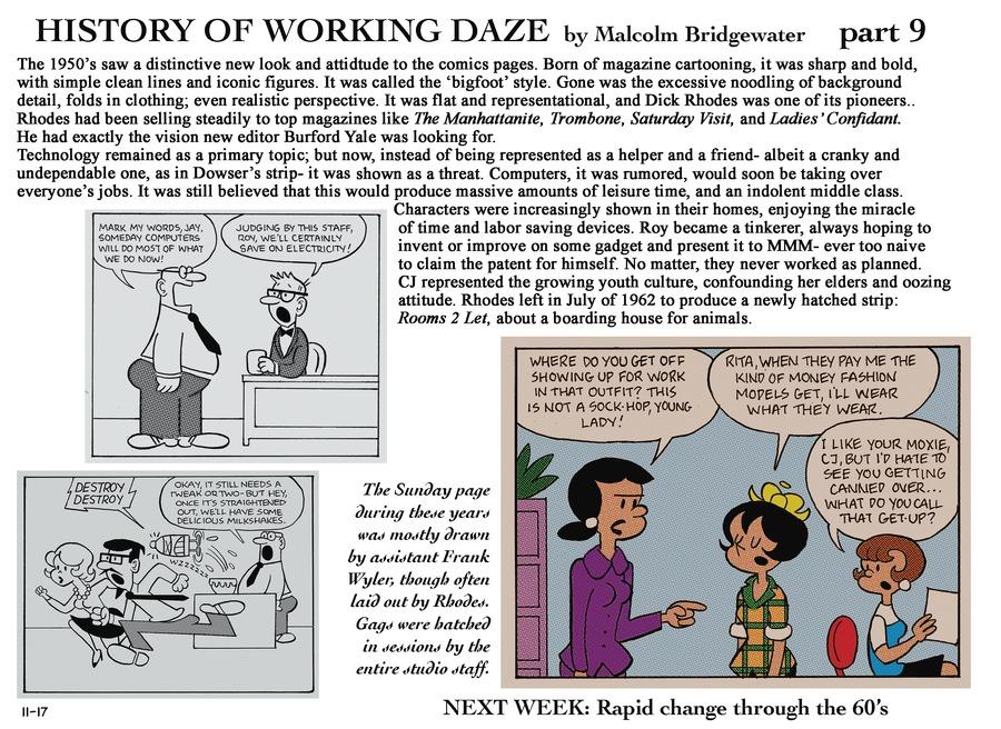 Working Daze Comic Strip for November 17, 2013