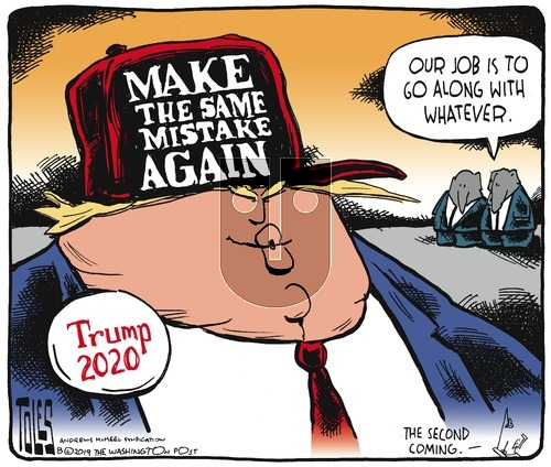Tom Toles on Sunday August 25, 2019 Comic Strip