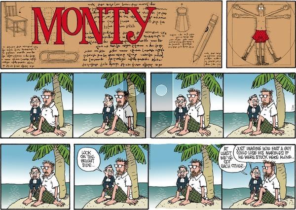 Monty on Sunday August 10, 2014 Comic Strip