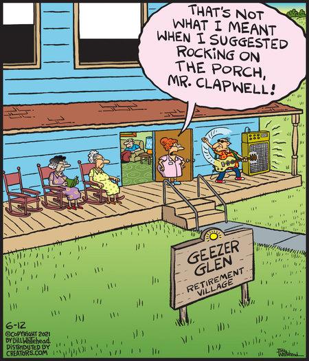 Free Range Comic Strip for June 12, 2021